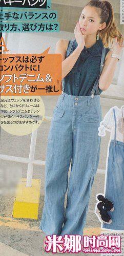 背带裤的活力夏天 日系卡哇伊少女搭配