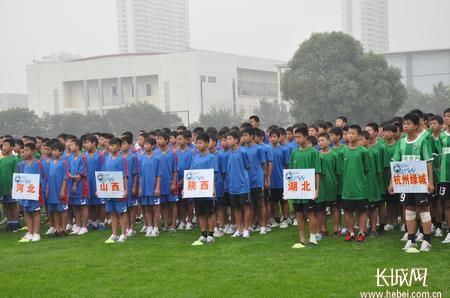 2011全国足球重点城市青少年足球赛秦皇岛开赛
