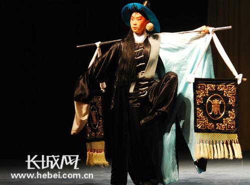 京剧《白水滩》中的谢涵。 照片由嘉宾提供