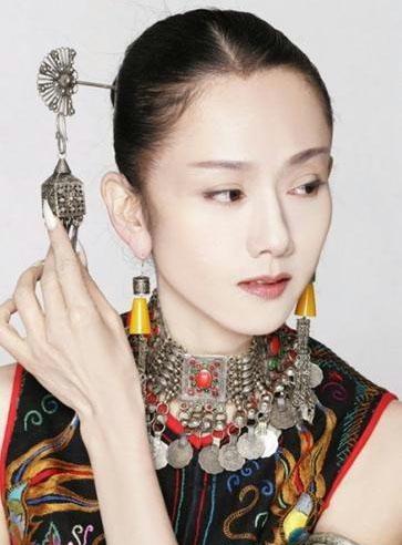 杨丽萍逆生长不老美女私家照