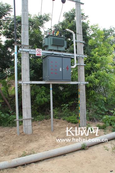 农村变压器安装接线图