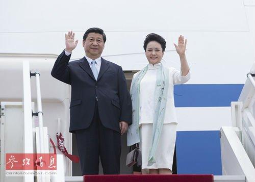 中国历届国家领导人-彭丽媛的女儿图片