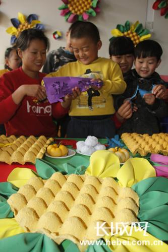 幼儿园长城手工制作图片
