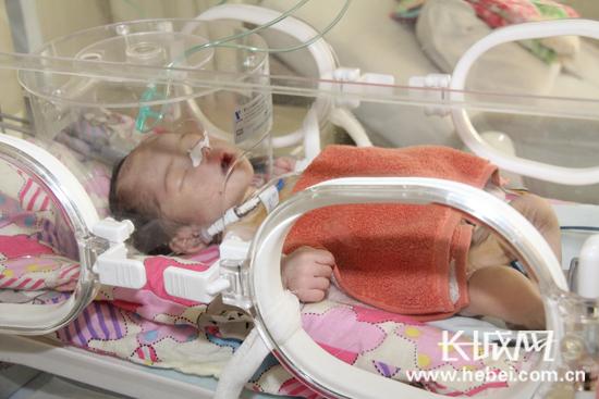 南宫病婴被弃惹人怜 医院紧急抢救脱离危险盼救助