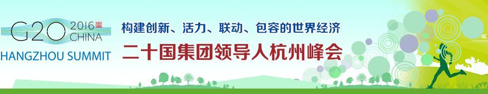 二十国集团领导人杭州峰会