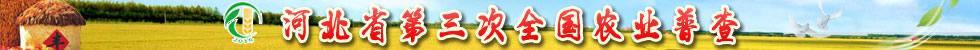 河北省第三次全国农业普查