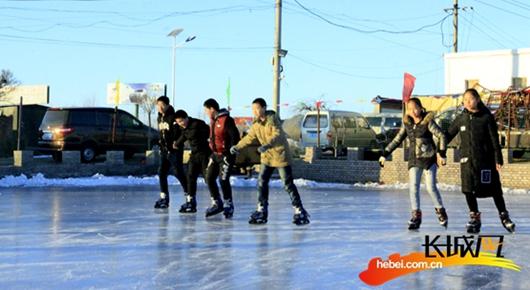 寒假已至 孩子去哪儿玩?张家口桥东有座免费滑冰场
