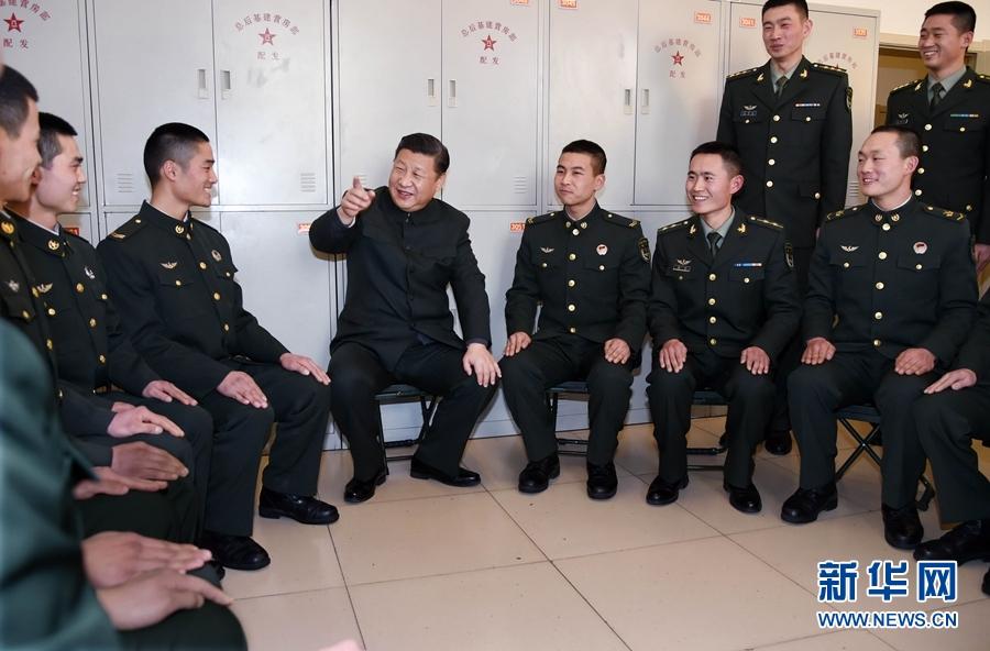 向全军指战员、武警部队官兵、民兵预备役人员致以诚挚问候和新春图片