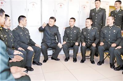 强军事业中绽放青春梦想图片