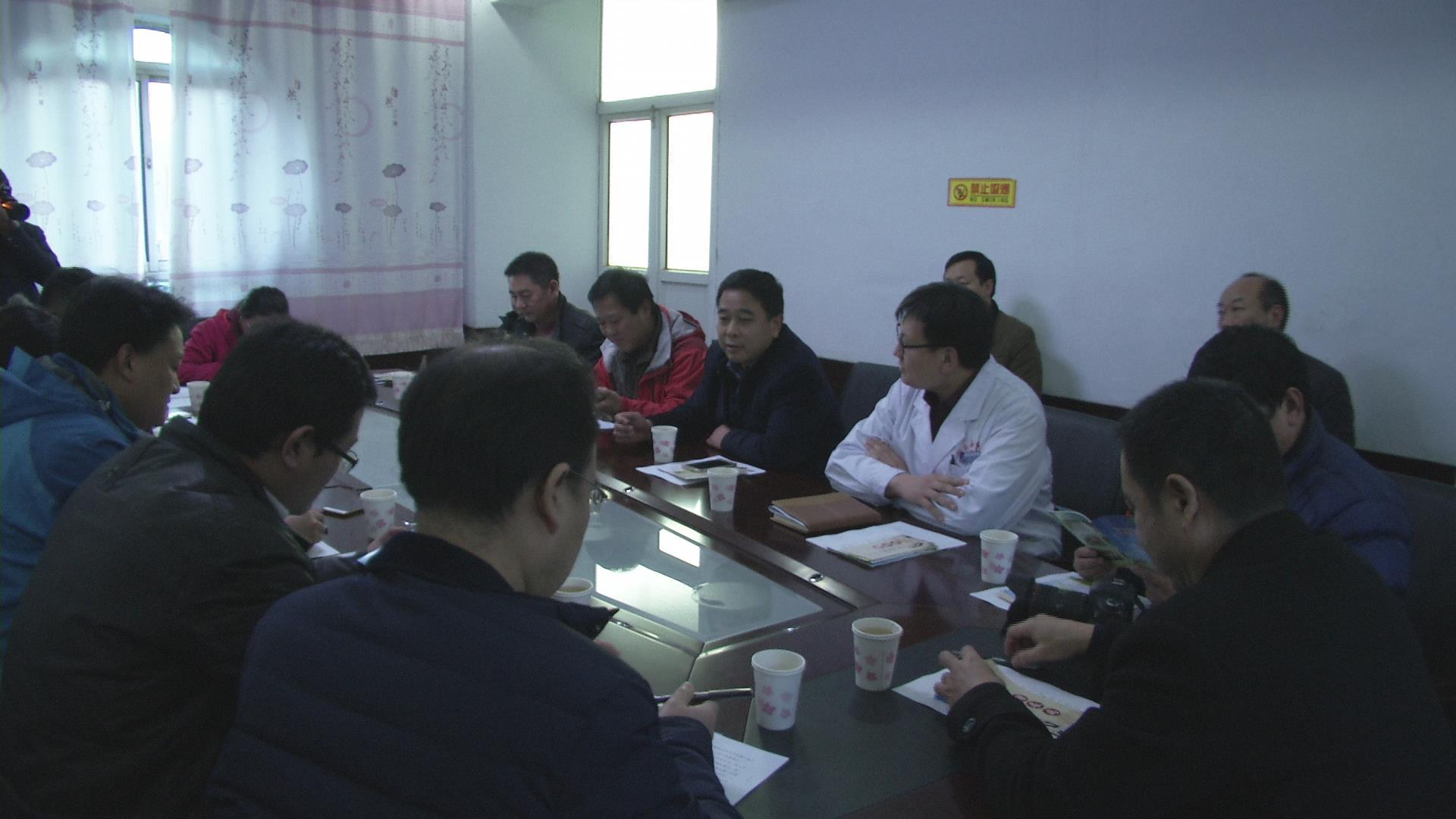 网络媒体健康行河北站 媒体采访现场