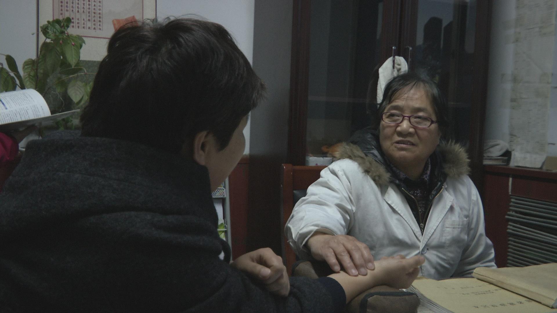 健康中国媒体燕赵行 媒体采访现场