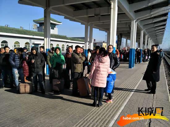 2017春运落幕 衡水火车站共发送旅客近百万