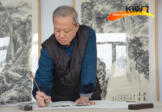 国家一级美术师王学明41年奉献 见证衡水绘画发展