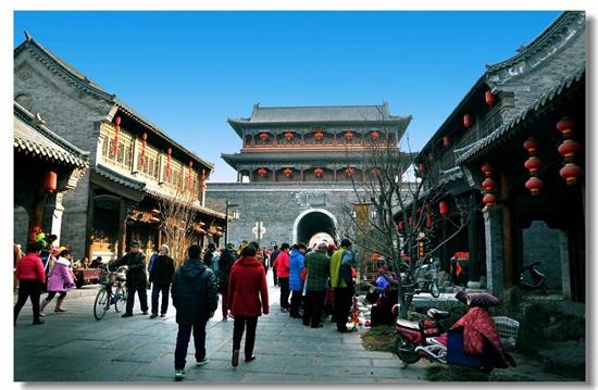 青州古城景区(资料图)-国家旅游局 山东青州古城旅游区 威海华夏城图片