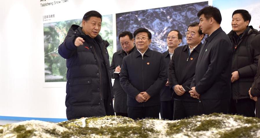 习近平:高质量完成冬奥会筹办工作