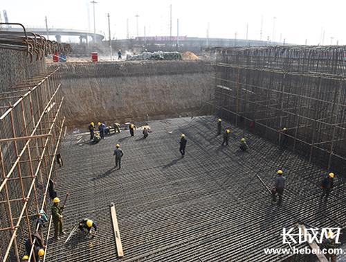 石家庄将建成河北最大城市立交桥群