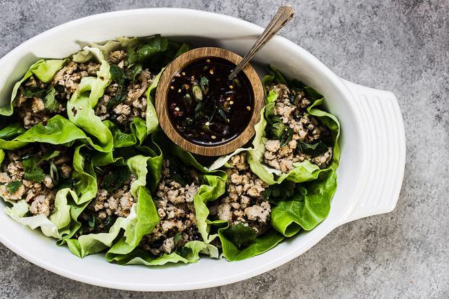 健康又美味的营养美食 从一片生菜开始!