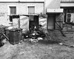 大鸭梨烤鸭店厨余垃圾堆小区 居民不敢开窗