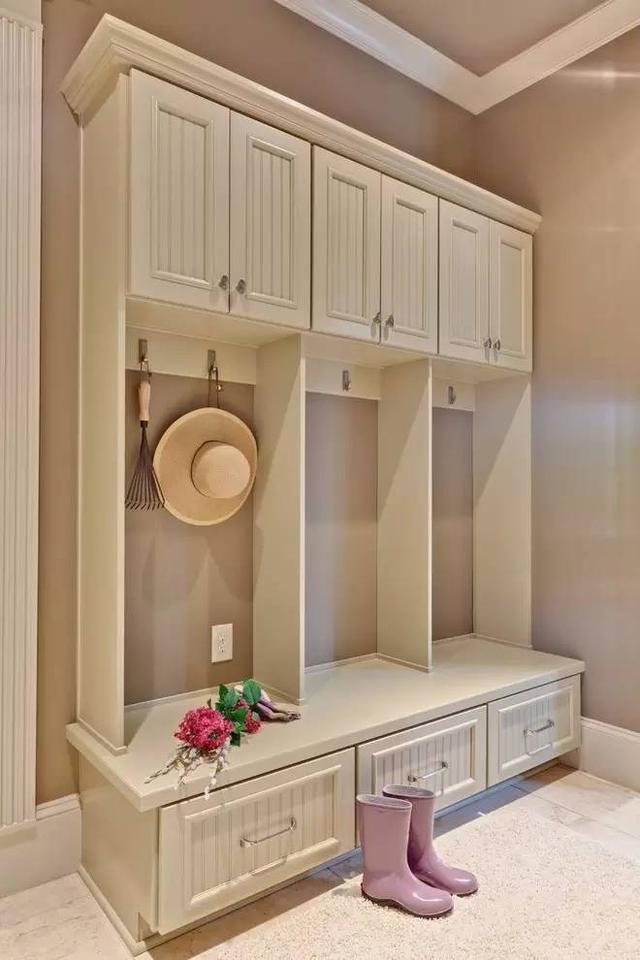 客厅进门玄关鞋柜设计 颜值有保证