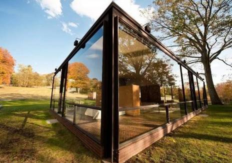 全透明玻璃房
