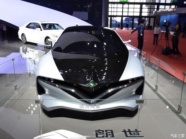 2017上海车展:朗世RF-EA2概念车亮相