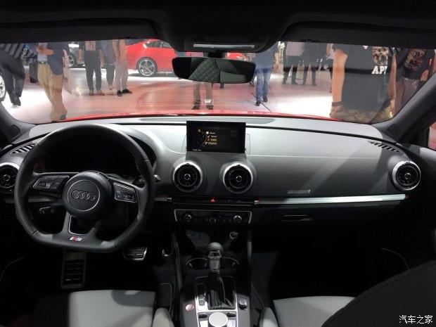 2017上海车展:奥迪新款S3 Sportback