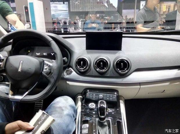 2017上海车展:WEY Pi4 VV7c正式亮相
