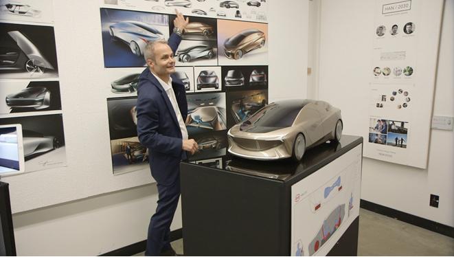 来自汽车设计大师艾格的课题:2025年比亚迪概念车