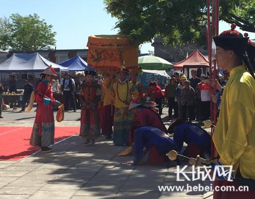 """第十八届河北正定 """"千年古韵""""历史文化旅游节开幕"""