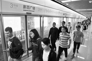 石家庄:地铁新百广场站举行大客流演练 - 轨道交通、地铁、高铁 - 轨道交通、地铁(轻轨)、有轨电车、高铁
