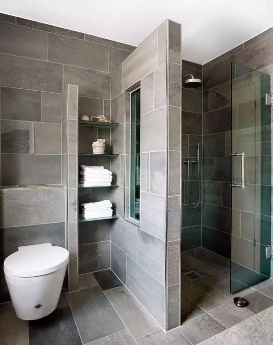 卫生间干湿分离好处多多 隔断花样任君挑选