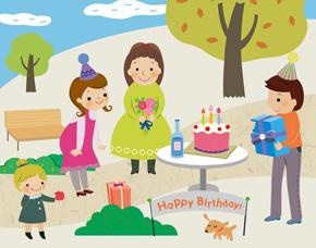 法国:为全家人举行的生日会