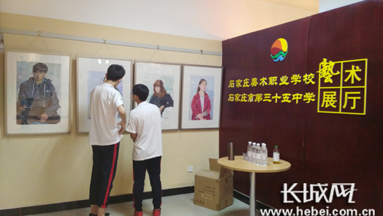 石家庄市第三十五中学举办学生优秀习作展