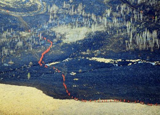 内蒙古呼伦贝尔那吉林场火灾扑救取得决定性进展