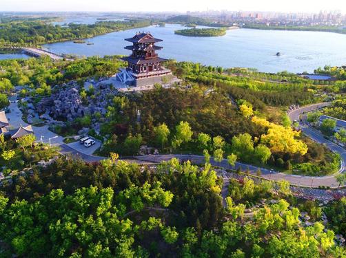"""唐山南湖:昔日""""工业疮疤""""变身""""城市绿肺"""""""