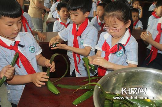 石家庄桥西区教育局开展端午节传统文化活动