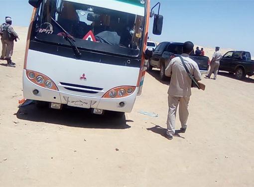 埃及公交车遭枪击造成至少26人死亡