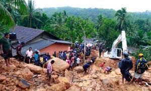 斯里兰卡泥石流洪水致至少91人死亡110人失踪