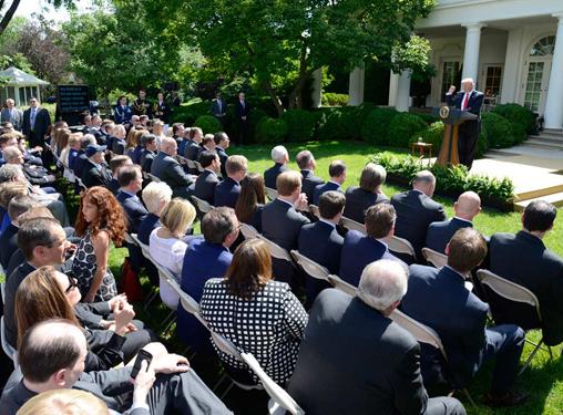 美国宣布退出《巴黎协定》