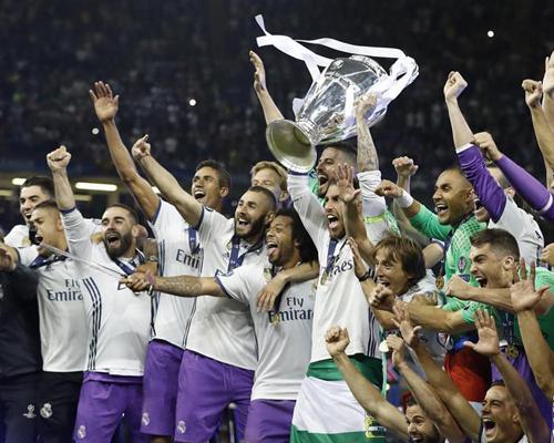 欧冠:皇马卫冕成功