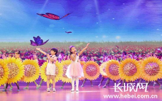 """""""向阳花的梦想"""":开发区举行第六届中小学生艺术展演"""