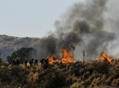美国加州山火肆虐