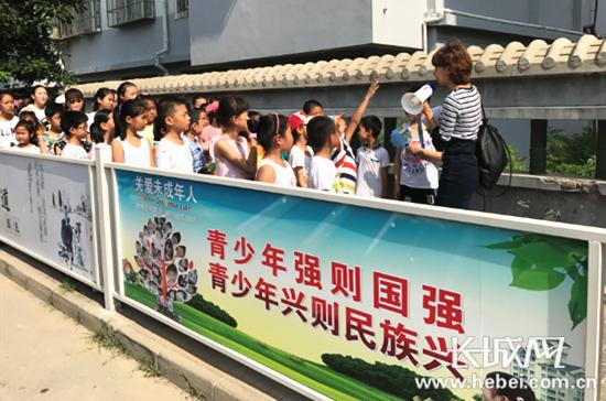 """秦皇岛社区:""""改陋习,树新风"""" 助创城"""