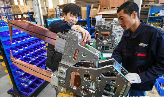 香河:机器人小镇托起大产业集群