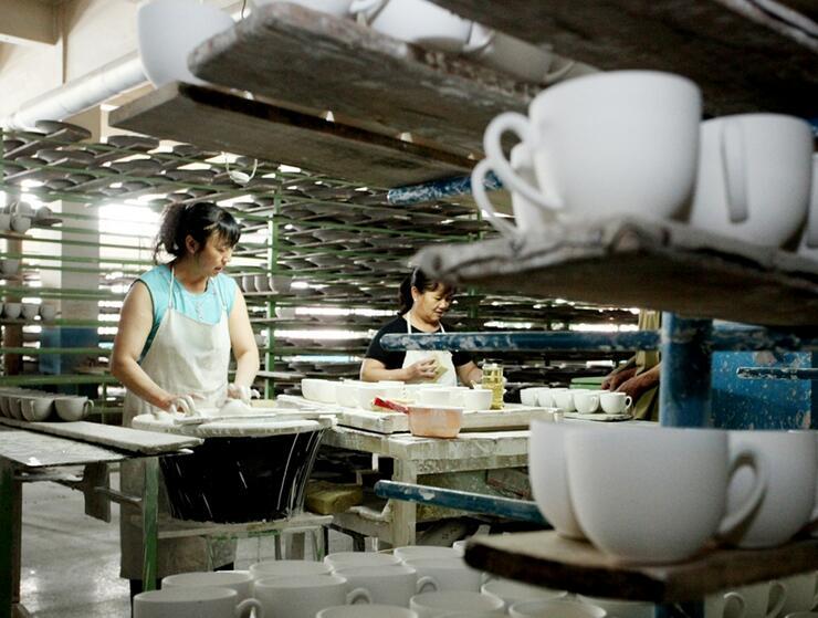 宣化老瓷厂焕发新生机
