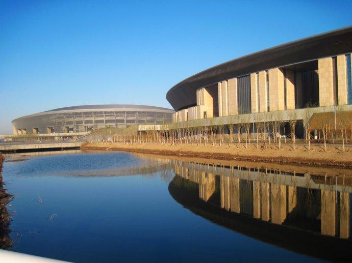 海河教育园体育中心体育馆 体操项目