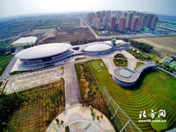 天津商业大学体育馆 跆拳道项目