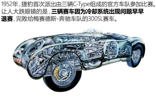 勒芒赛道的统治者 实拍捷豹D-Type赛车