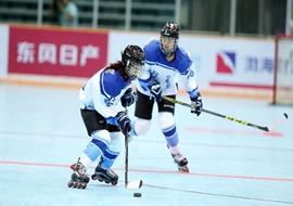 全运会轮滑冰球开赛 为冬奥培养人才