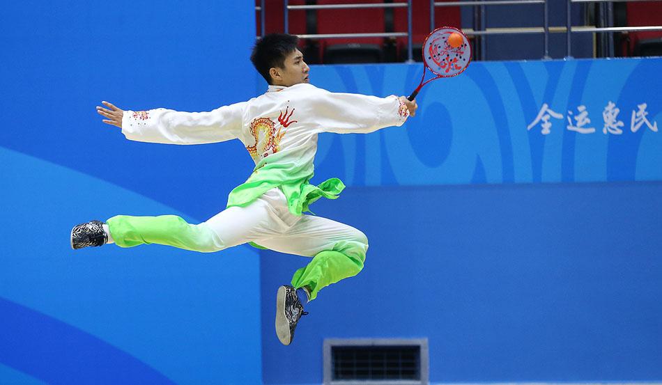 全运会群众项目柔力球决赛在津开赛